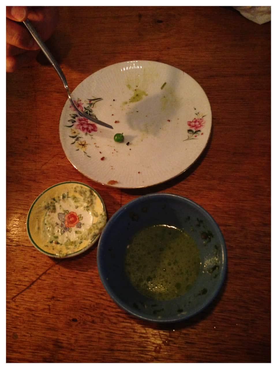 Svenske nosser med dansk tartarsauce - efter 5 minutter
