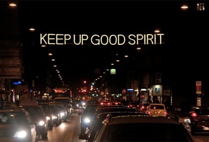 Keep up good spirit - kunsten.nu, foto Ida Balslev