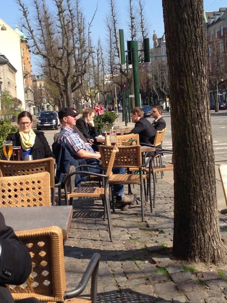 Frederik VI udendørs servering
