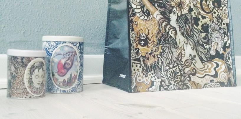 Smukke kunstdåser af Julie Nord for Irma