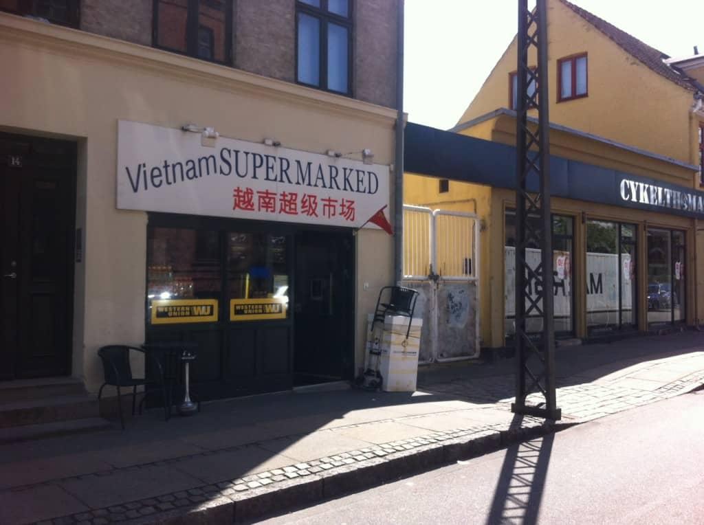 Amager og vietnamesisk supermarked
