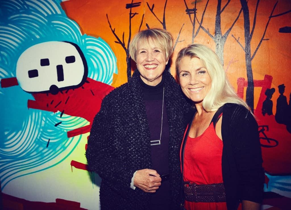 Gudrun (tv.) og Anne-Eiise (tv.)