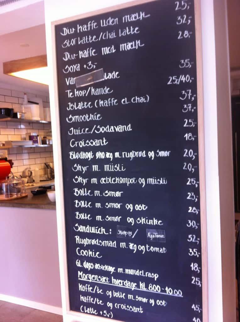 Kaffebar No 95 på amager