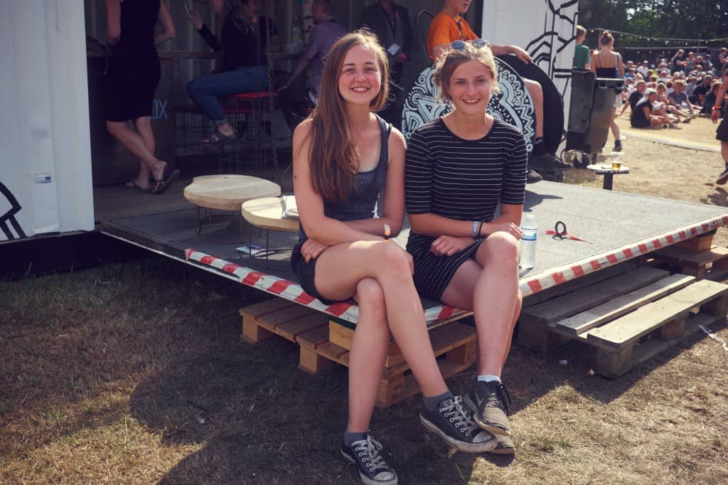 Mathea og Amalie