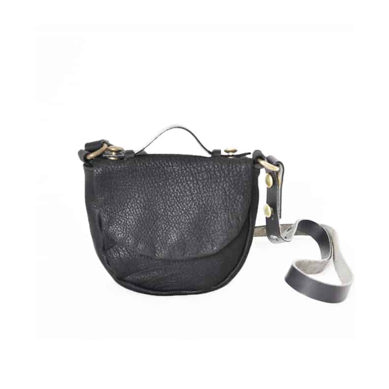 CAIA-LEATHER-BAGS-INTERIORDESIGN-DC Shoulder Bag Black-999SEK