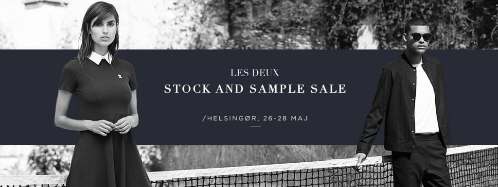 LES DEUX STOCK AND SAMPLE SALE