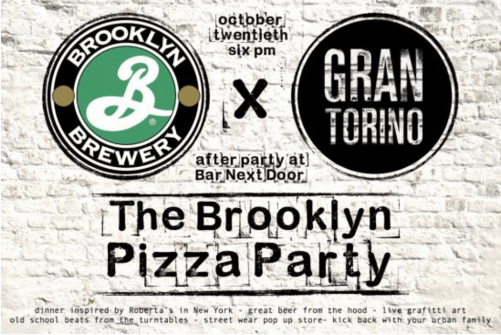 BROOKLYN PIZZA PARTY