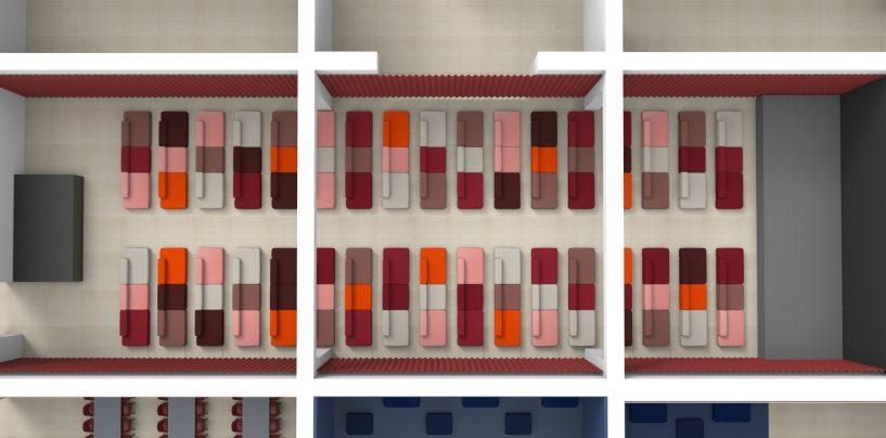 Danmarks første designsofa-biograf popper up under CPH:DOX