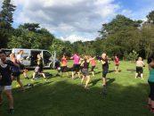Gratis fællestræning i Fælledparken