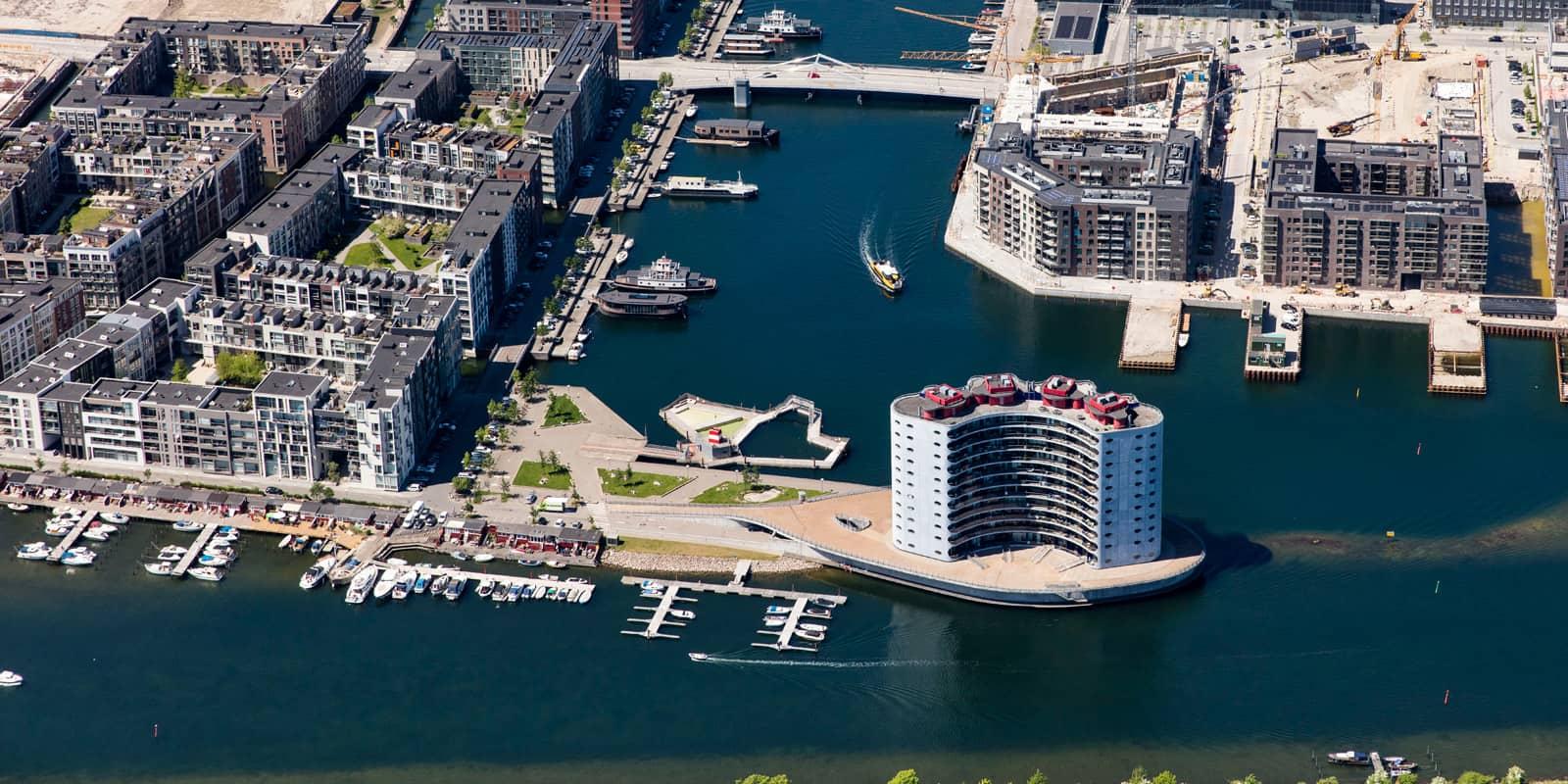 Sluseholmen, Sydhavnen, By og Havn