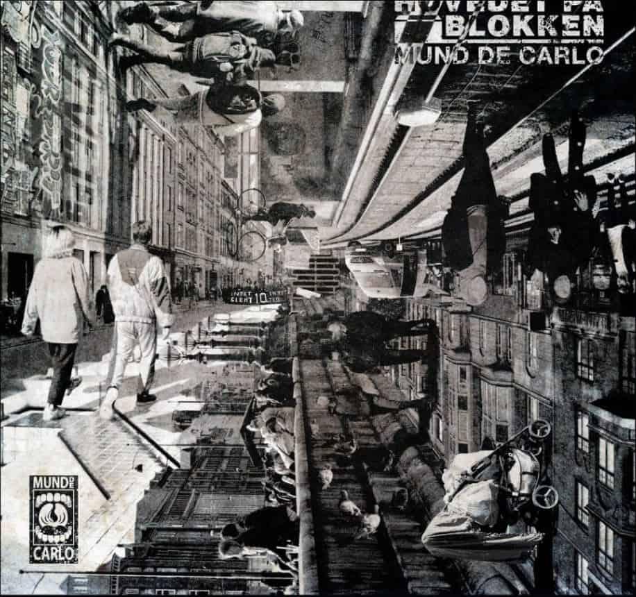 Album cover til Carlos' kommende udgivelse som forestiller Nørrebro fra 4 vinkler (Credit: Feanor Engemann)