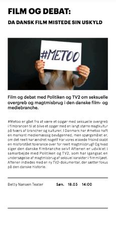Film og Debat Metoo