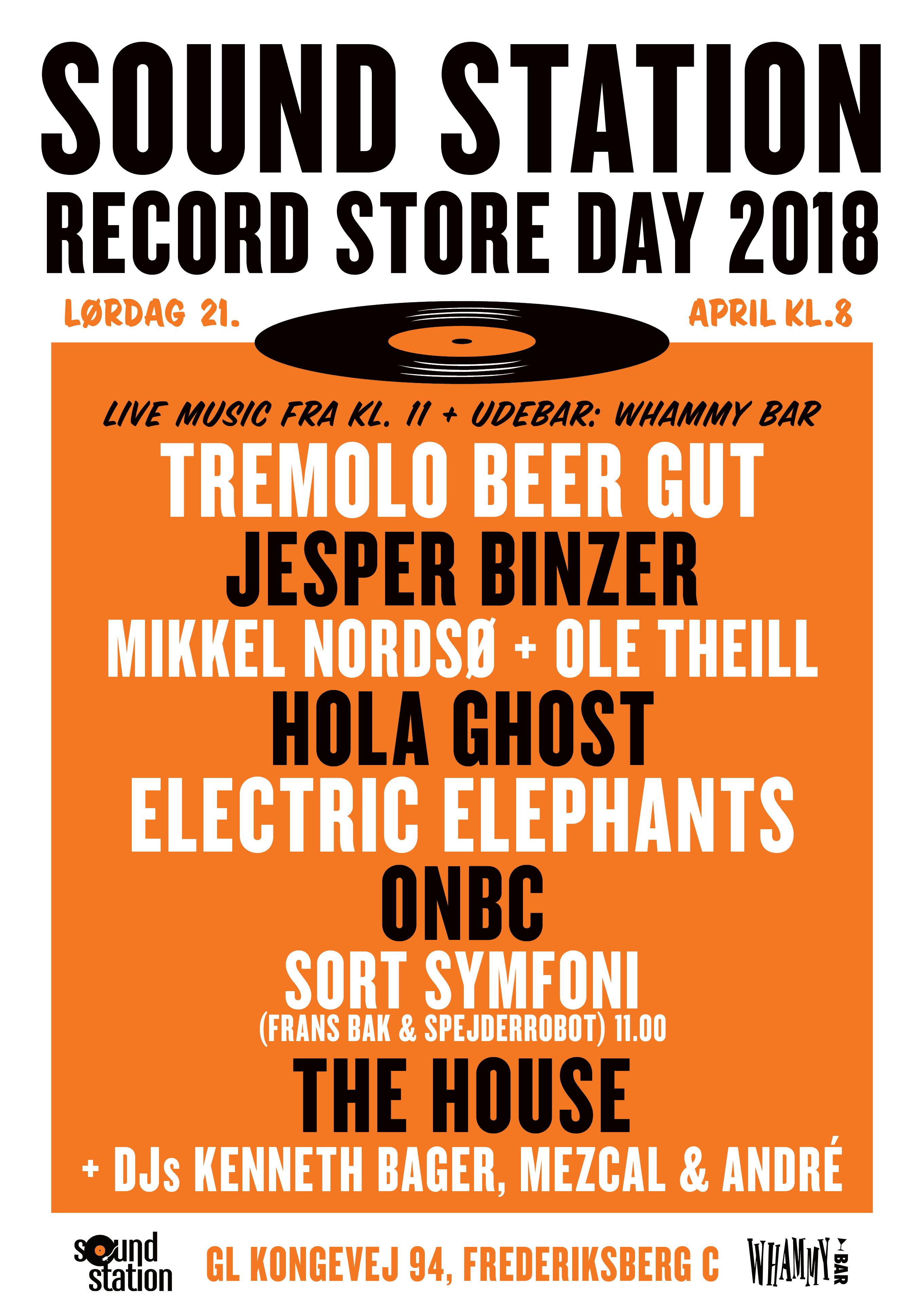 RSD 2018 poster