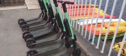 Test: Rugbrødsmotor vs el-løbehjul