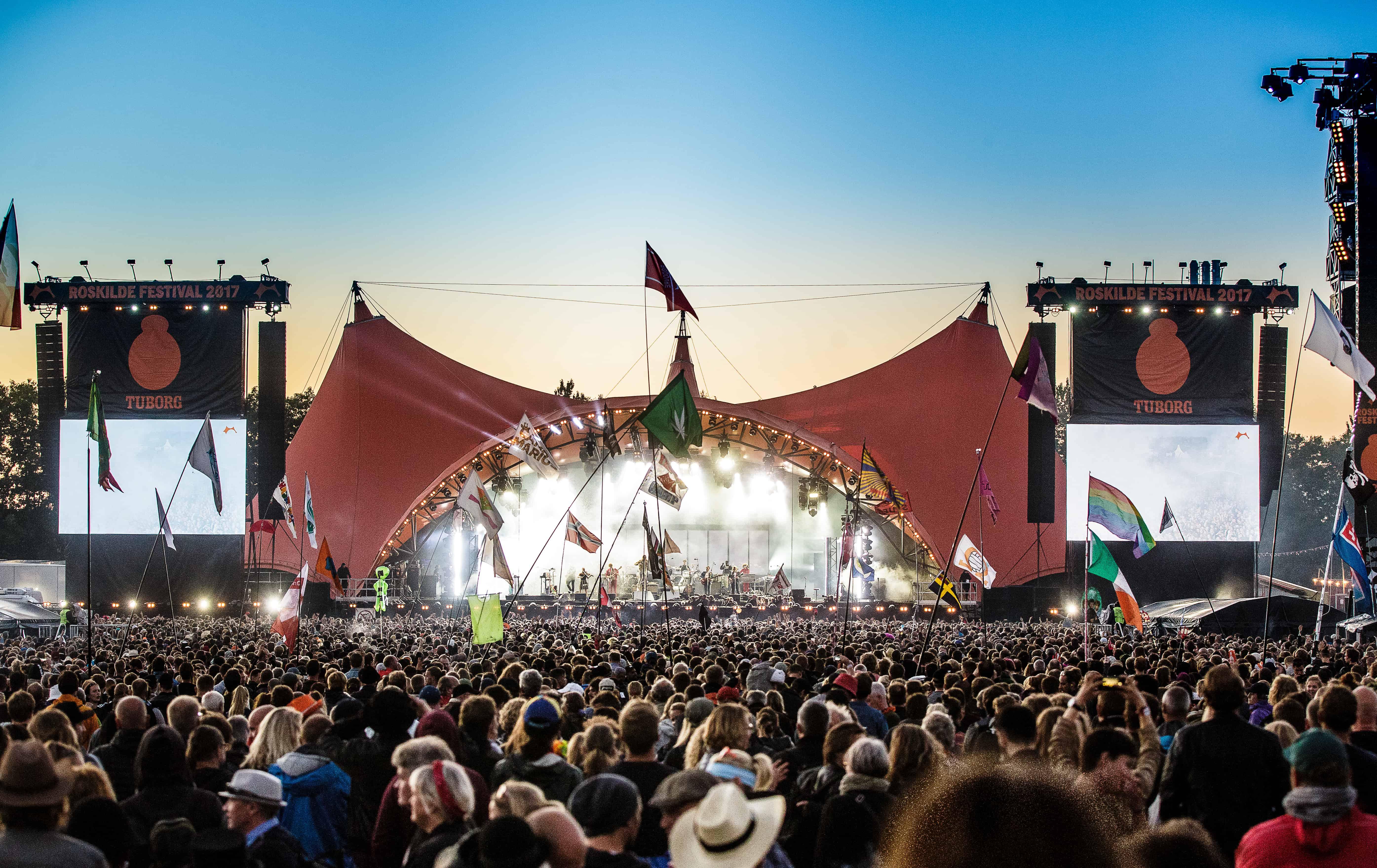 Da The Cure aflyste deres Roskilde-koncert i 2000