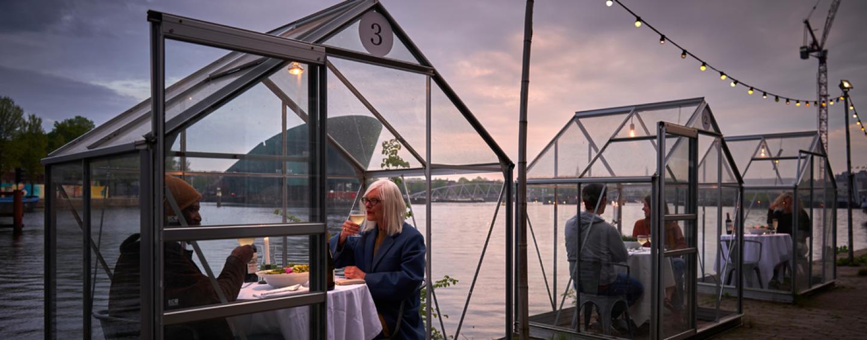 Meyers åbner to Corona-sikrede drivhusrestauranter