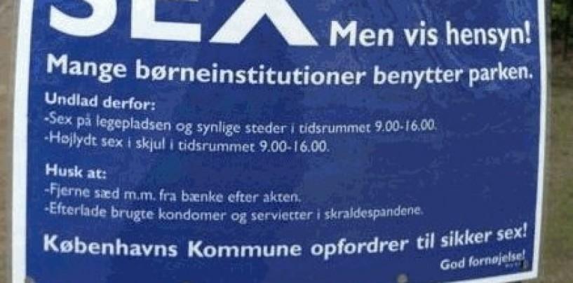 Københavnsk frisind? Eller practical joke?