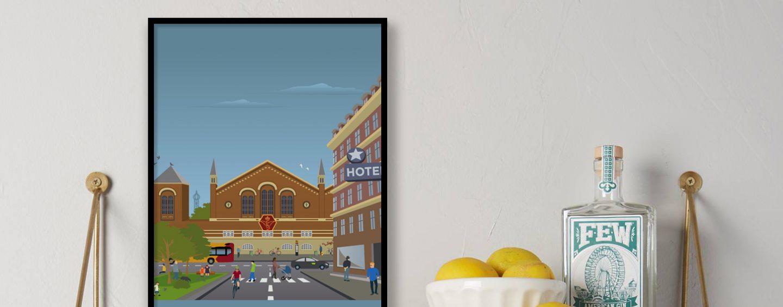 Plakatkunst af København