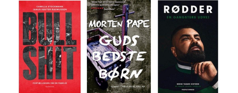 Anmeldelse: Tre bøger om bandekriminalitet