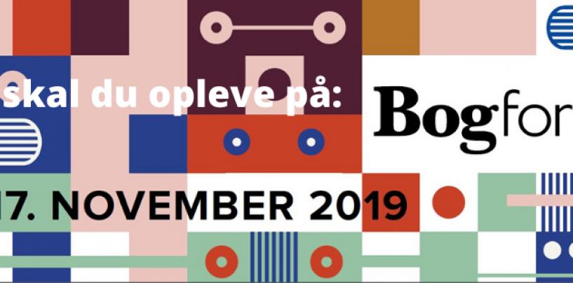 Fem forfattere fortæller: Det skal du opleve på BogForum 2019