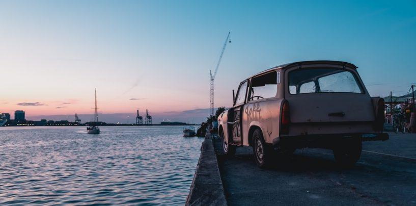 Corona-gåture øde steder i København