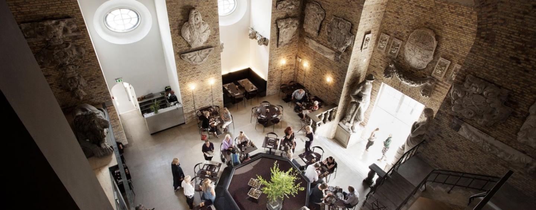Tårnet på Christiansborg byder nu på takeaway